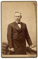 Portrait of President Rutherford B. Hayes. ca 1876, from the Olin Levi Warner papers - Image Gallery | Archi Courtesy of www.aaa.si.edu