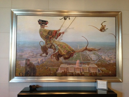 %22Above Washington, D.C.%22 by Zhong-Yang Huang at Mandarin Oriental 2014