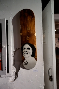 20141014 Carl Sagan Skatedeck by Brandon Hill