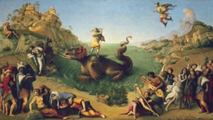 Liberation of Andromeda c.1500 by Piero Di Cosimo