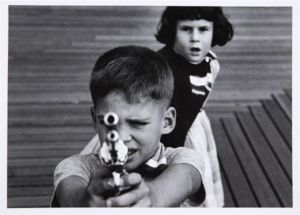 William Klein - Boy Plus Girl Plus Gun - 1955