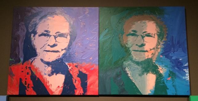 Andy Warhol, Julia Warhola, 1974