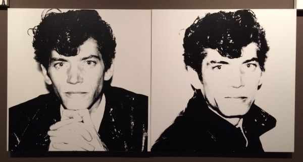 Andy Warhol, Robert Mapplethorpe, 1983