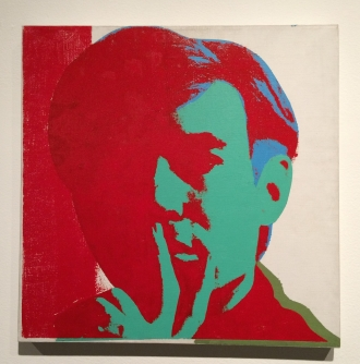Andy Warhol, Self-Portrait, 1966-1967