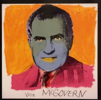 Andy Warhol, Vote McGovern, 1974