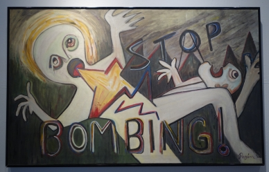 Stop Bombing, Myrna Pagan, Date Unknown