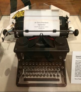 Terry Pratchett's Imperial 58 Typewriter