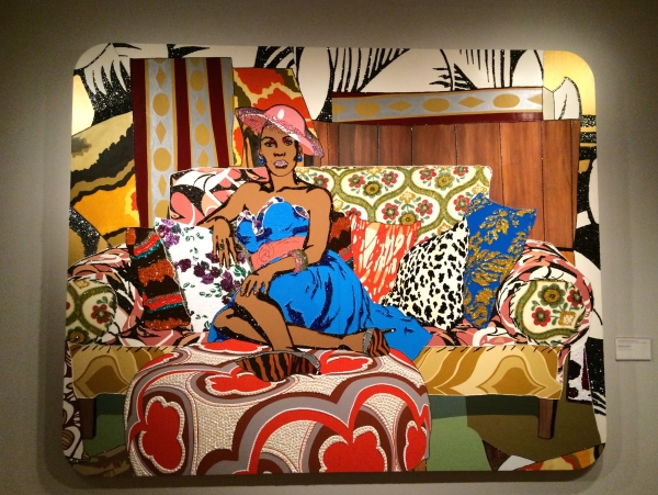 Something You Can Feel, 2008 - Mickalene Thomas