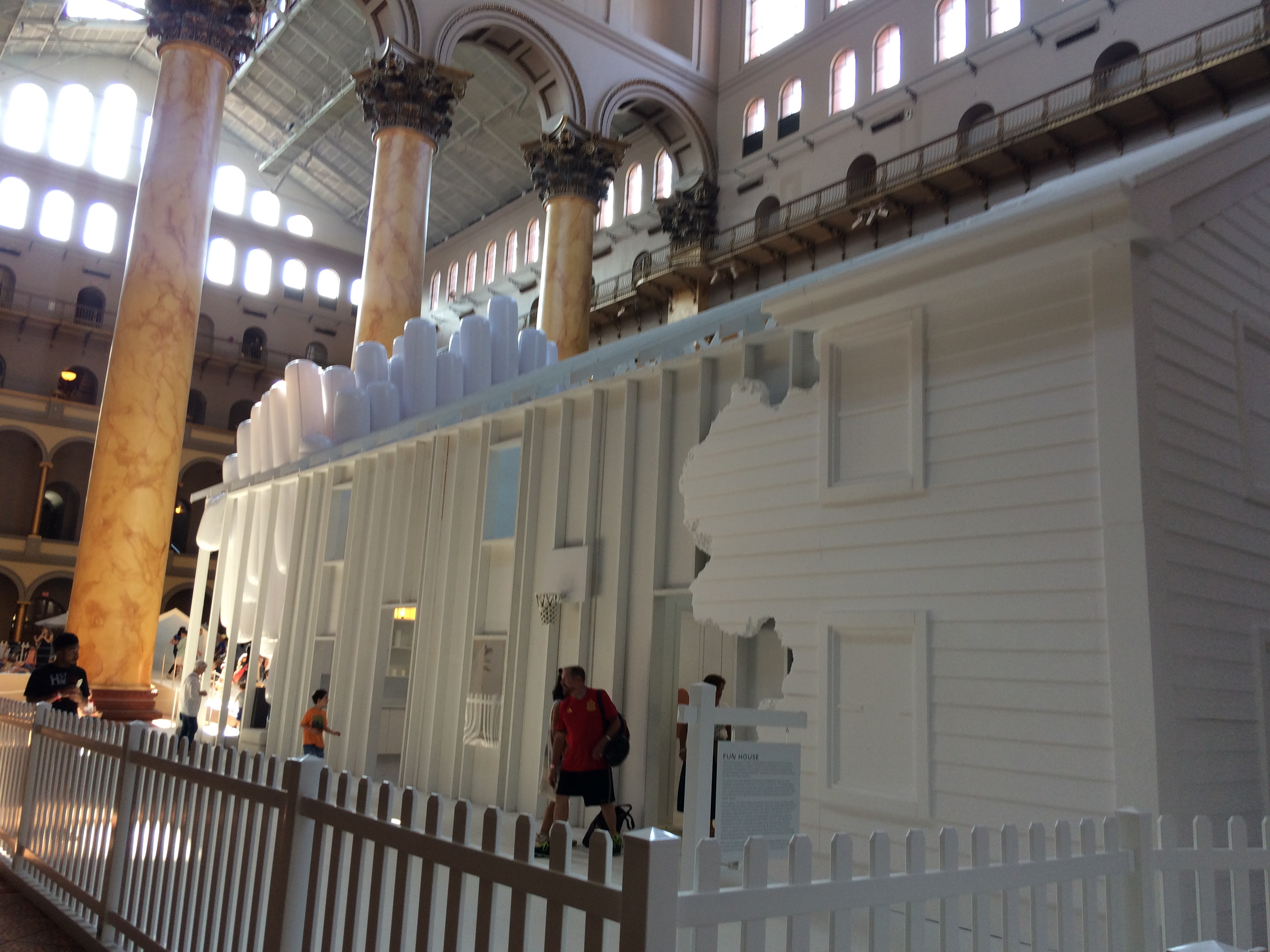 Funhouse (by Snarkitecture) at the National Building Museum