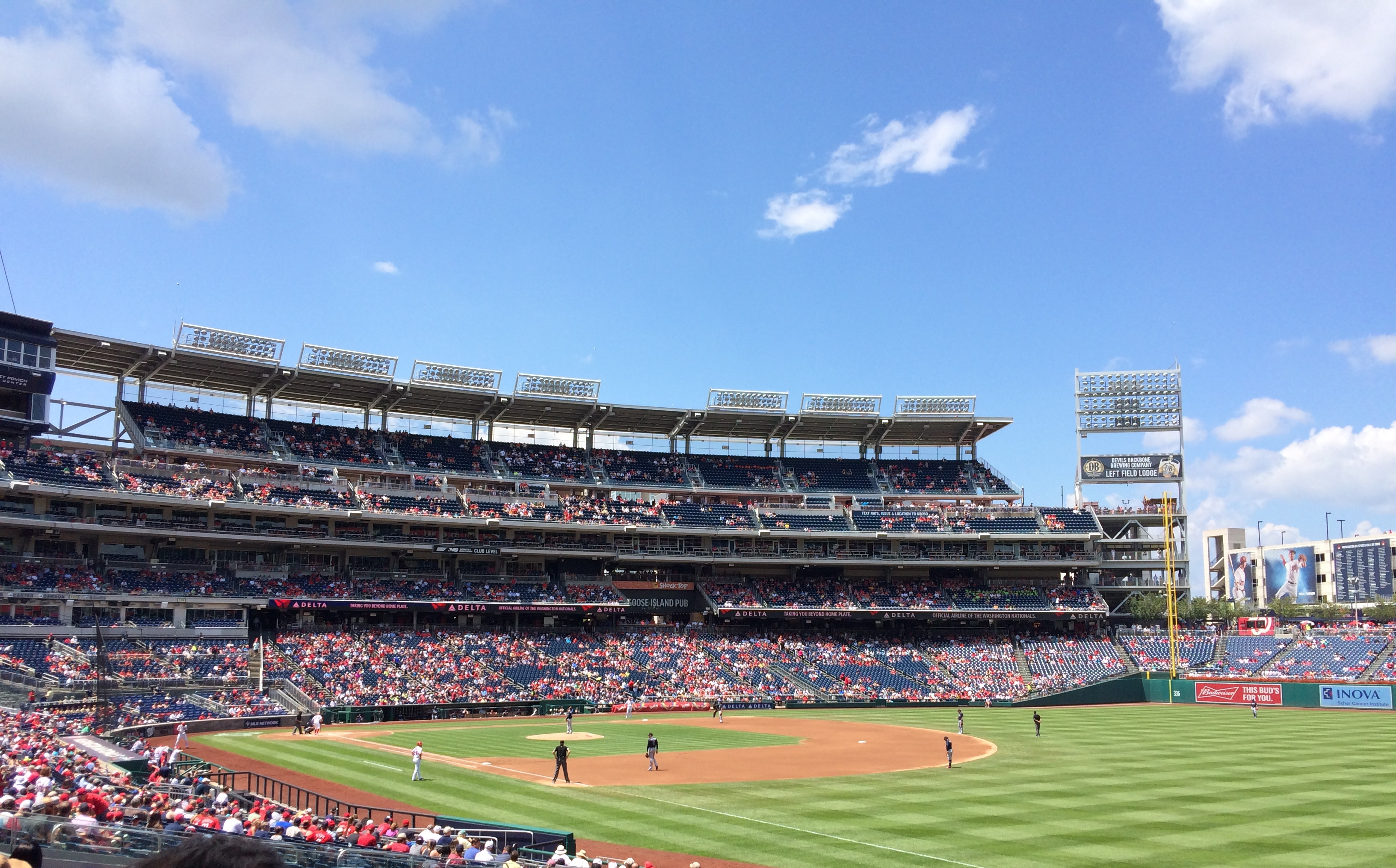 Nationals Stadium in All Its Glory.