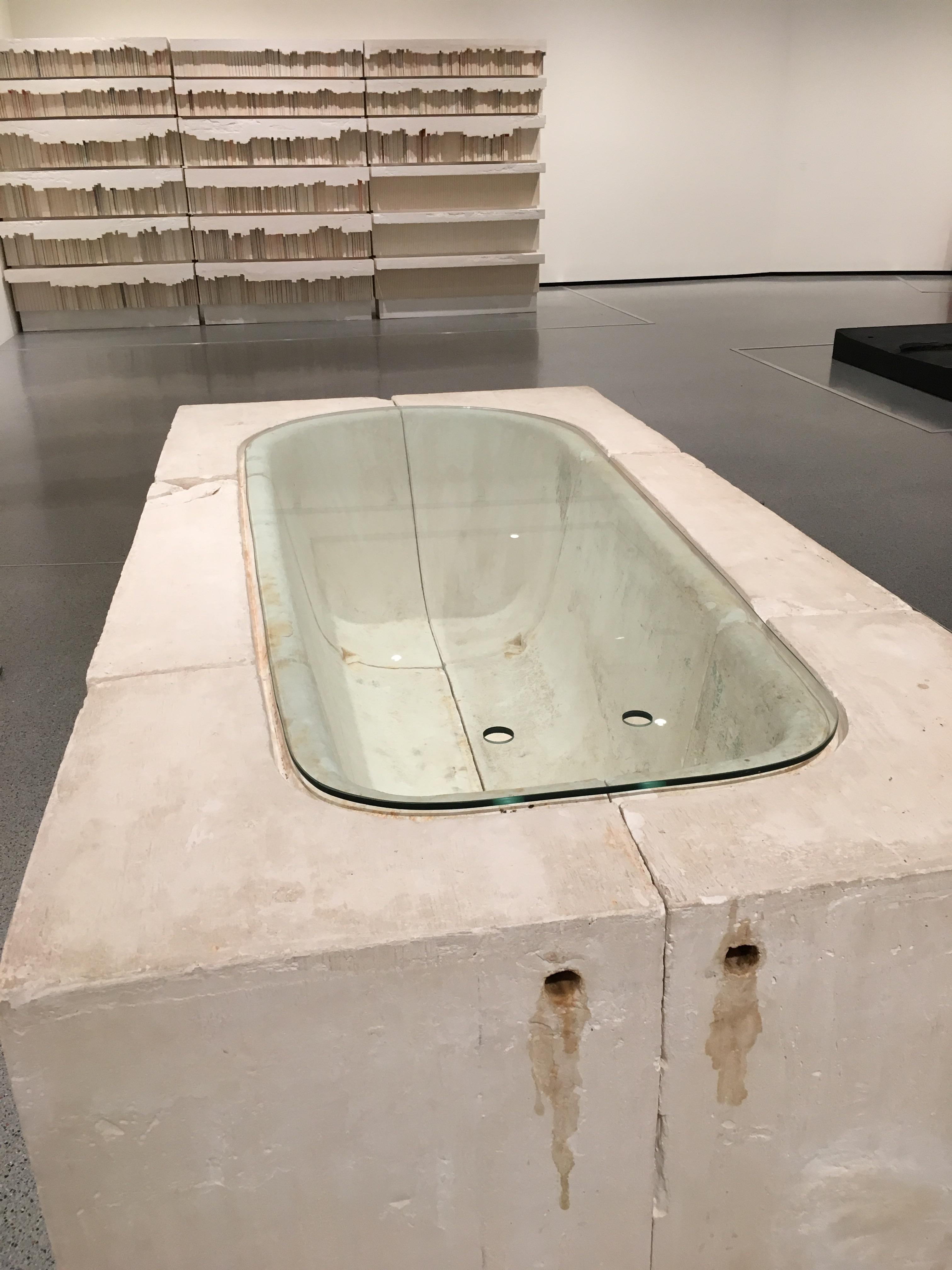 Untitled Bath, 1990, Rachel Whiteread