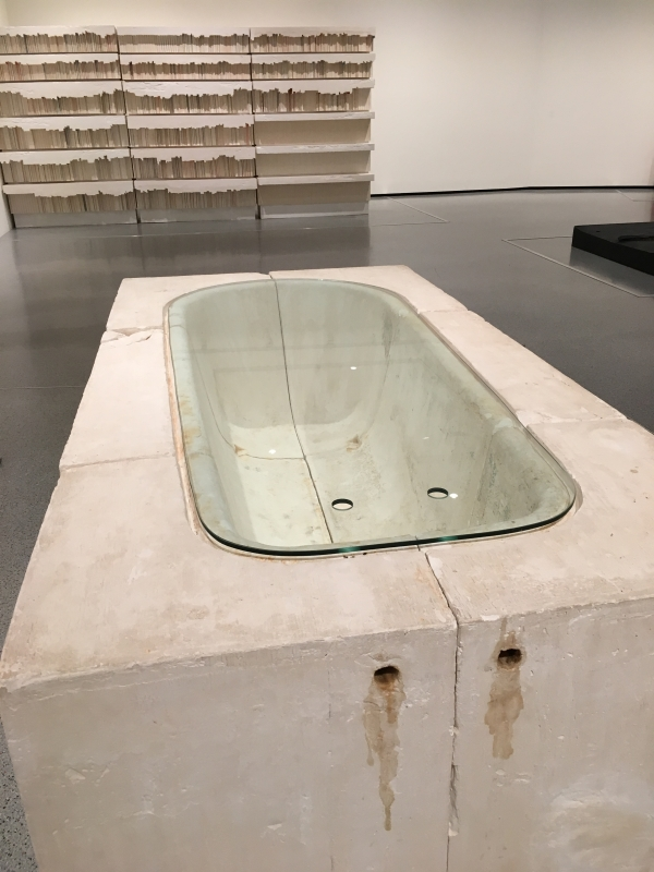 Untitled Bath, 1990, Rachel Whiteread