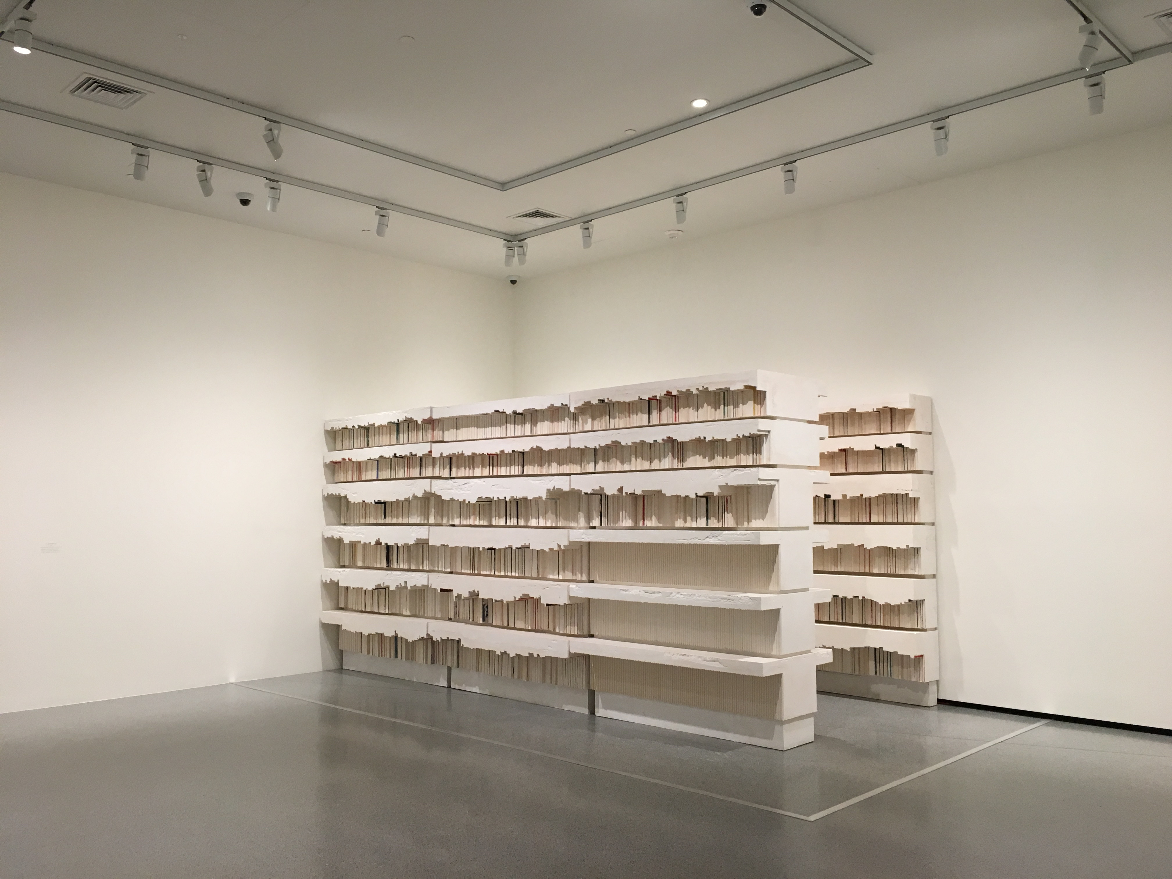 Untitled Library, 1999, Rachel Whiteread