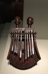 Tabwa artist, Democratic Republic of the Congo, Lamellophone (kankobele), 20th Century, Wood and iron
