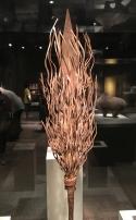 Mumuye artist, Nigeria, Rain wand, Mid-20th century, Iron 1