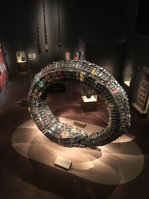 Rainbow Serpent (Dan-Ayido-Houedo), 2007, Romuald Hazoumè